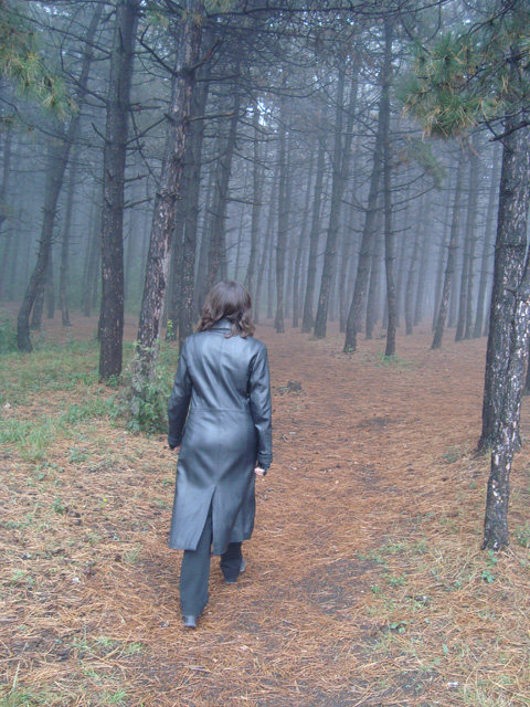 In the forest (Mary)