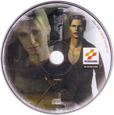 Диск, Европейское издание Silent Hill (OST)