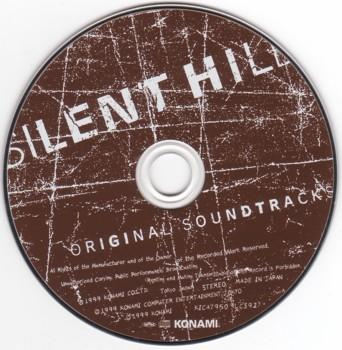Диск Японского издания Silent Hill (OST)