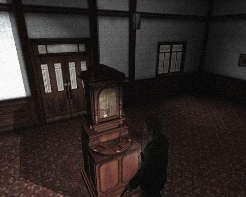 Музыкальная шкатулка, в вестибюле
