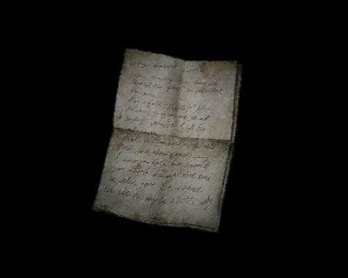 Письмо Лауре от Мери