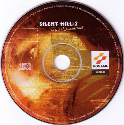 Диск, Европейское издание Silent Hill 2 (OST)