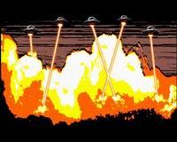 Скриншот из концовки UFO