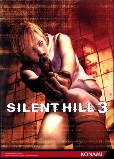 Коробка Silent Hill 3 Азия (PC версия)
