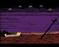 Скриншот из концовки Silent Hill 3 - Revenge