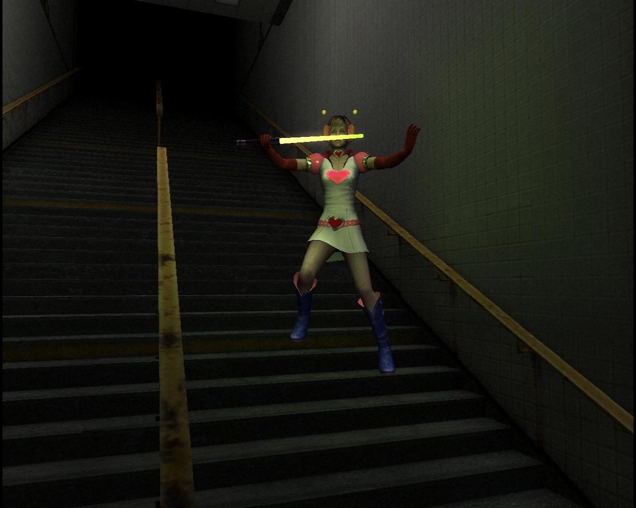 Лазерный луч в Silent Hill 3