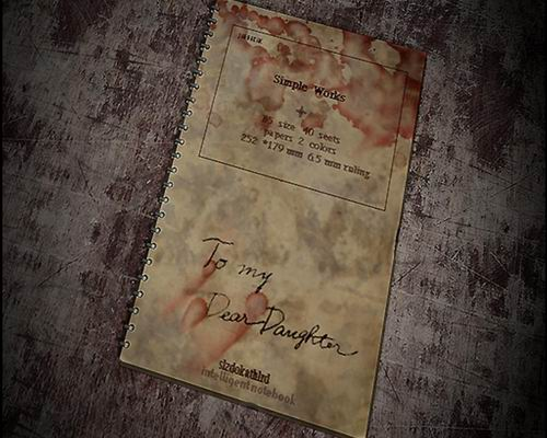 Записная книжка отца