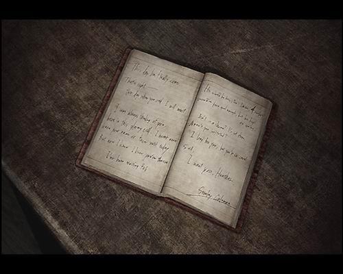 Дневник Стенли Колмэна (в комнате посещений)