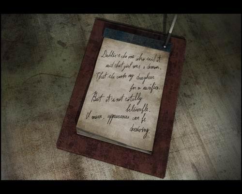 Записка отца