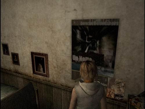 Плакат в комнате Хизер
