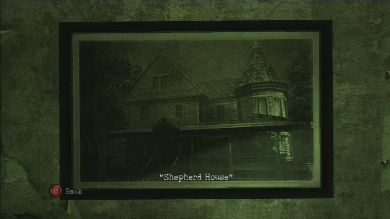 Картина Shepherd House в Silent Hill: Downpour