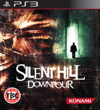 Silent Hill: Downpour бокс арт PS3