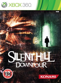 Silent Hill: Downpour бокс арт XBOX 360