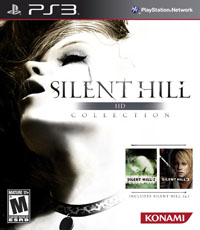 Silent Hill HD Collection бокс арт PS3