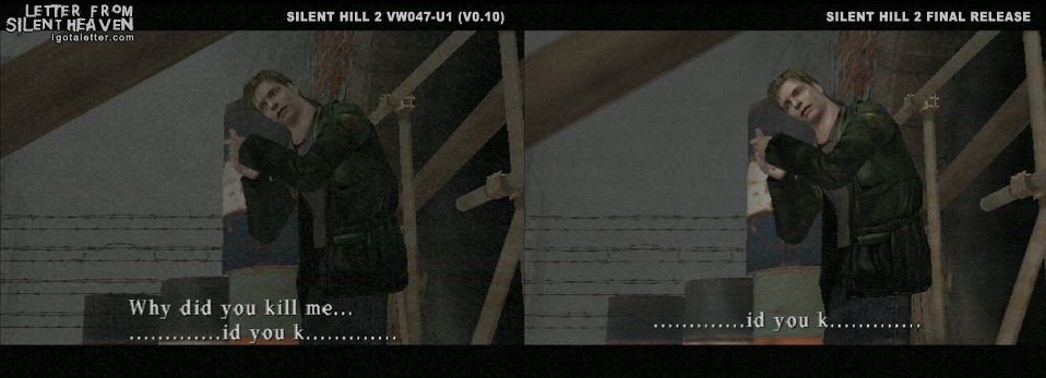 Сравнение версий Silent Hill 2